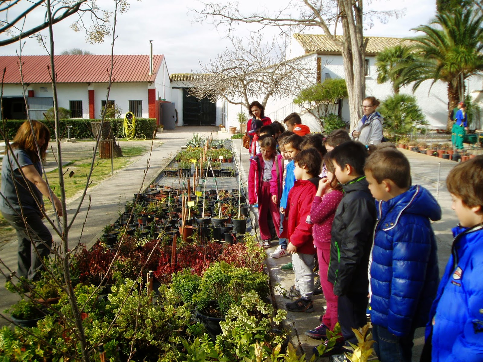 En red ador es excursion a la escuela de jardineria el for Escuela de jardineria
