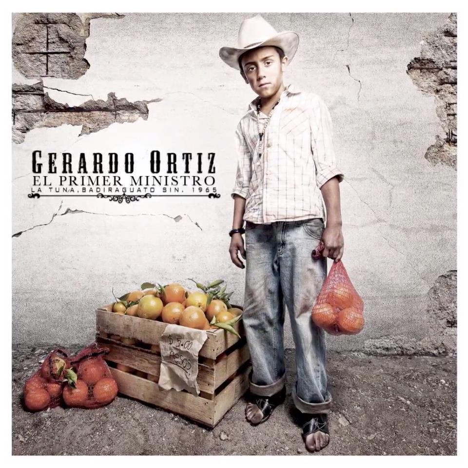Gerardo Ortiz     El Primer Ministro  Deluxe Version   Disco 2012 Gerardo Ortiz El Primer Ministro