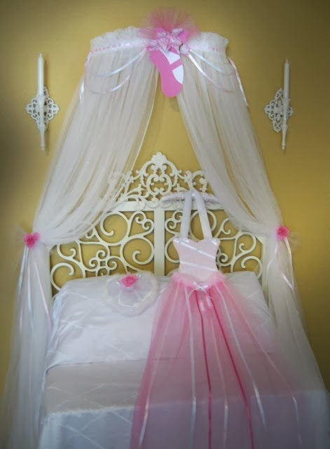 Girls Bedroom Canopy