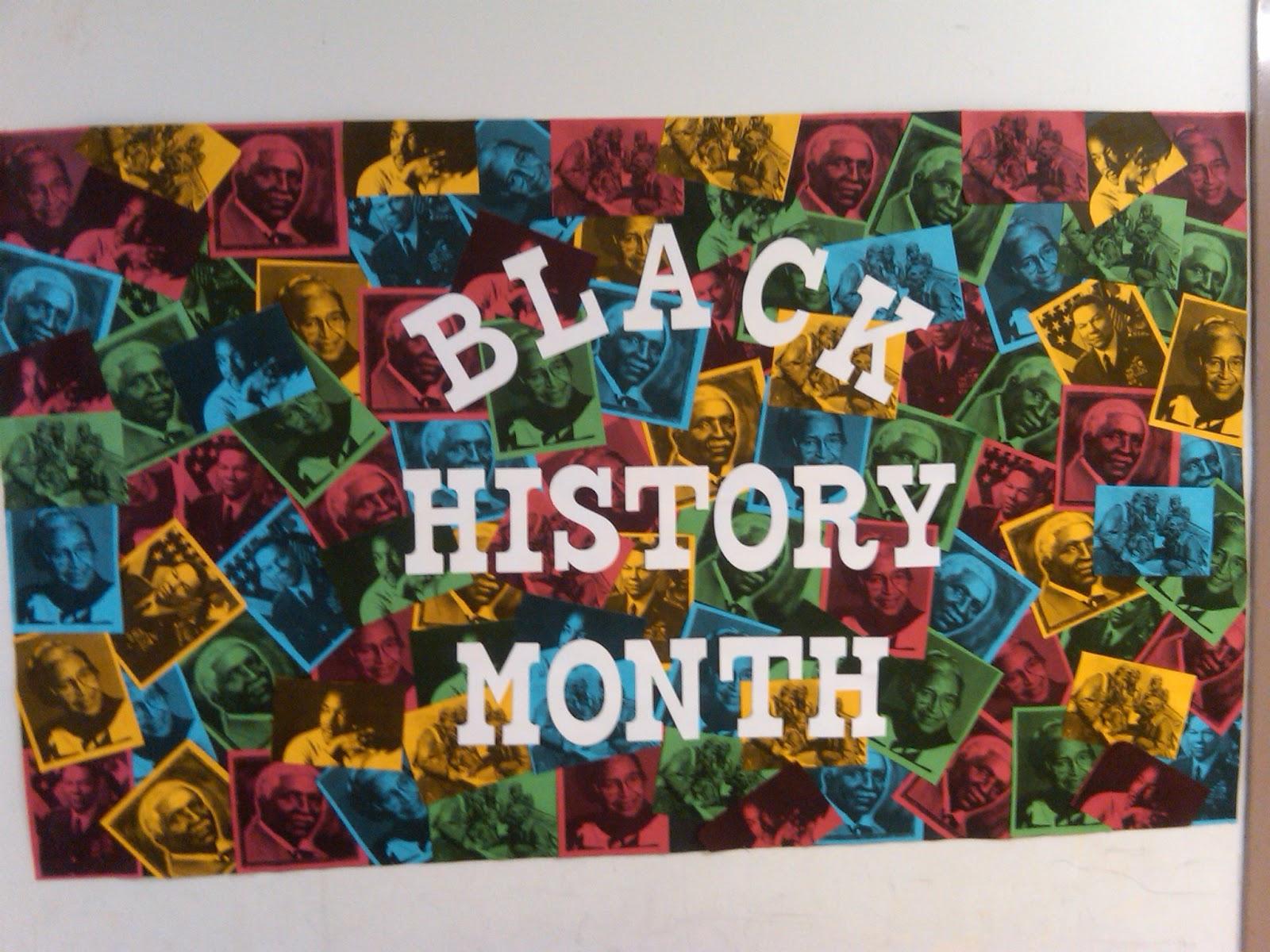 Black history month bulletin board ideas download for Black bulletin board ideas