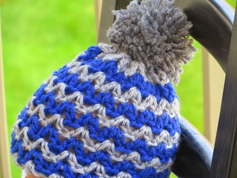 Alexis Beanie Crochet Pattern For Boys Or Girls Newborn To Woman