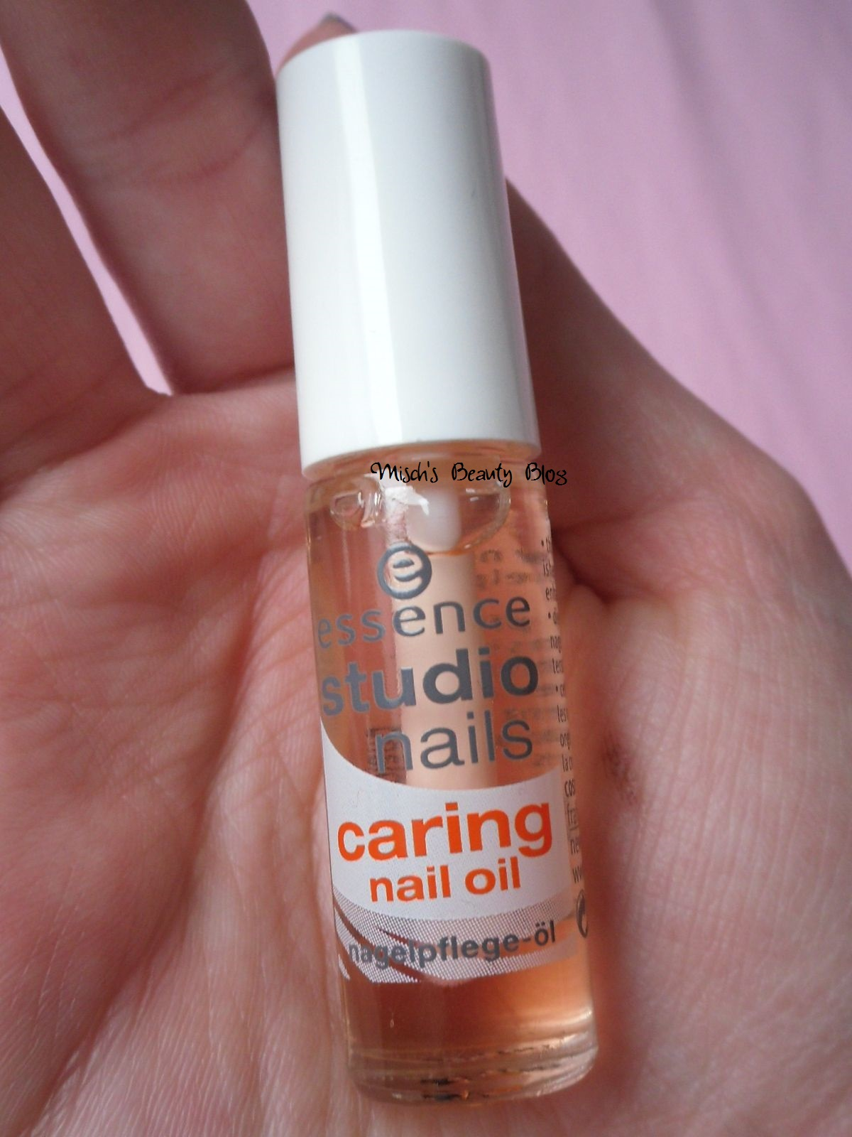 Misch's Beauty Blog: Review: Essence Studio Nails Caring ...
