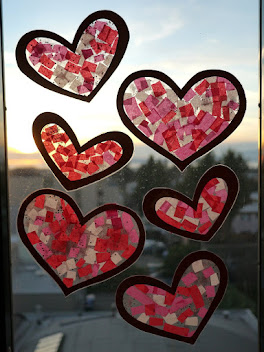 Valentine Heart Sun Catcher