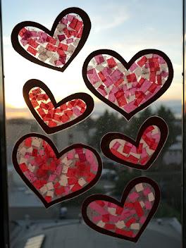 Valentine Heart Sun Catcher