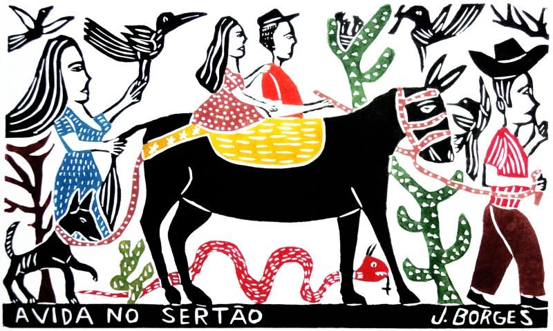 A Vida no Sertão - J Borges