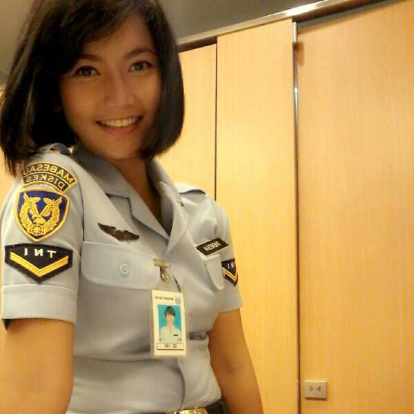 Theresia Mariana Susanti, Pramugari Pesawat Kepresidenan