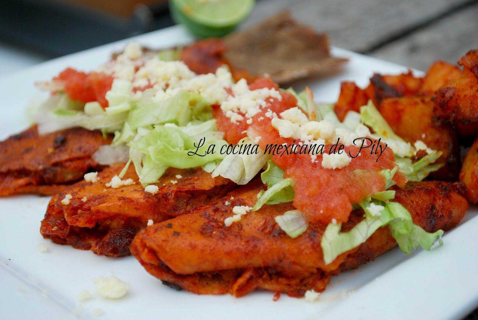 Enchiladas Recipe — Dishmaps