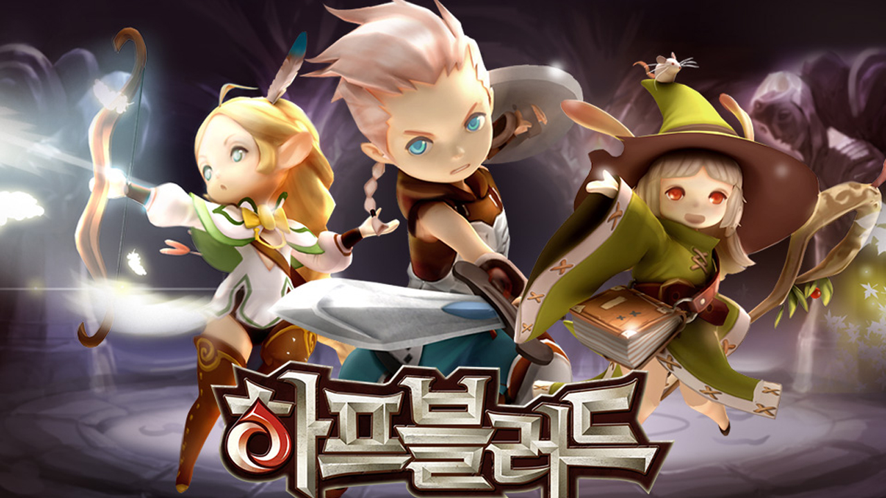 Half-Blood (하프블러드) Gameplay IOS / Android