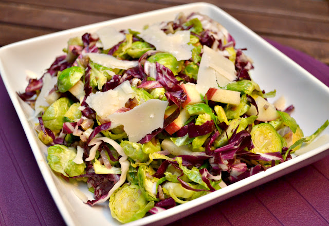 brussels sprouts salad with walnut vinaigrette recipe