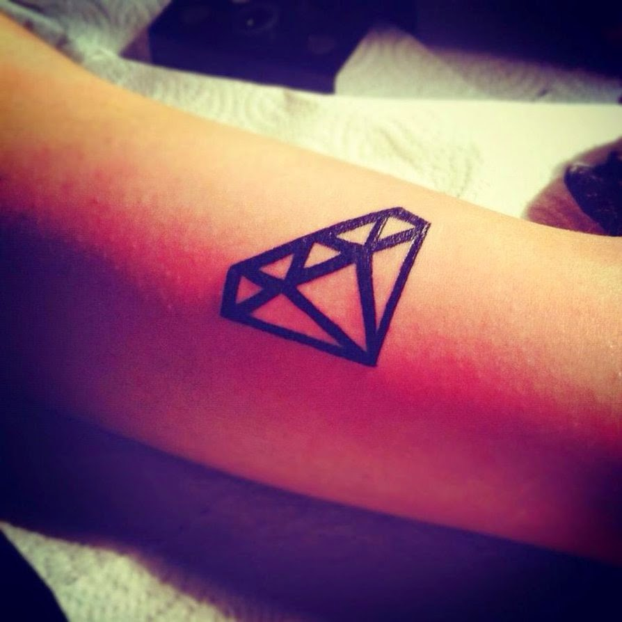 Diamant Tattoo Vorlagen