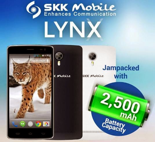 SKK Mobile Lynx Now Official, 5-inch HD Octa Core Phablet for Php3,999