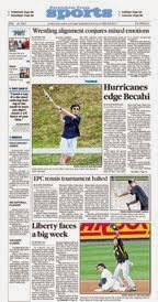 Sports front