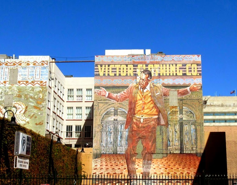 L a is my beat for Anthony quinn mural