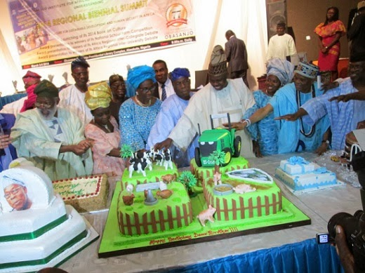 Photos From Olusegun Obasanjo's 77th Birthday Party