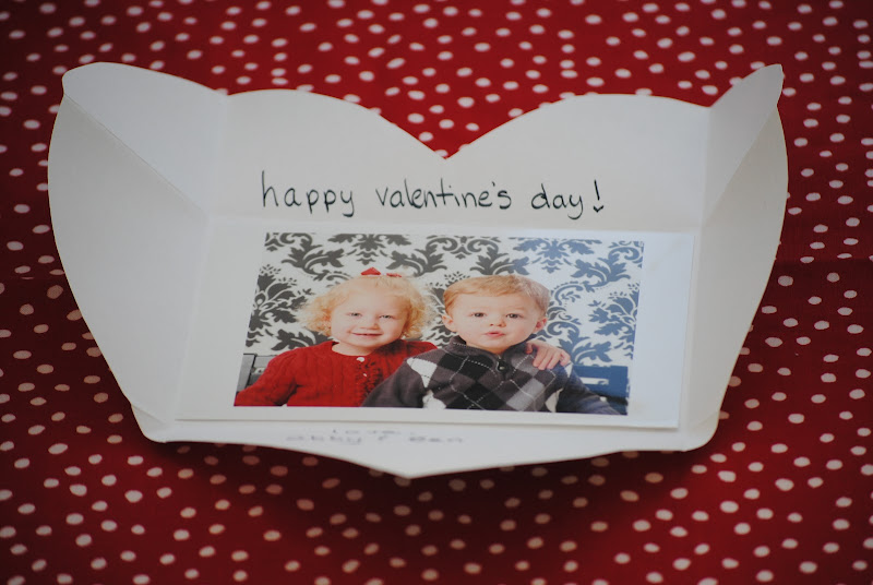 diy photo valentines day card