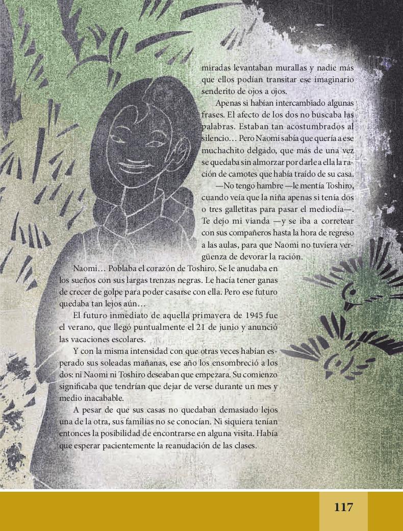 Mil grullas - Español Lecturas 6to 2014-2015