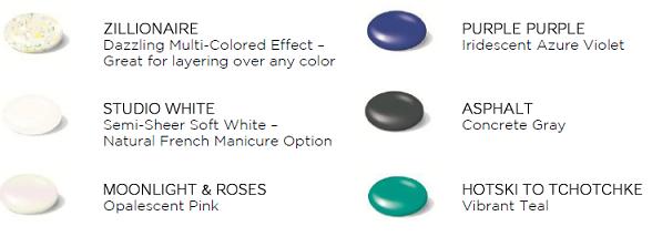 Sneak Peek: New Shellac Colors for Fall