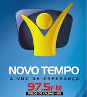 ouvir a Rádio Novo Tempo FM 97,5 Poços de Caldas MG