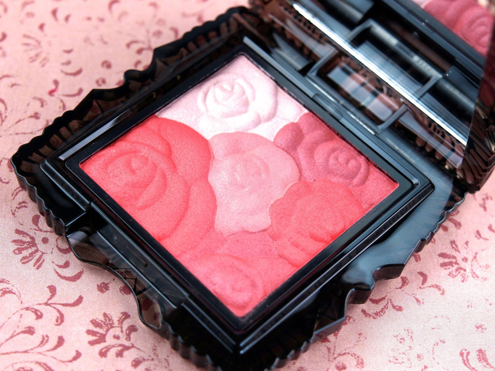 Anna Sui Fall 2014 Lipstick M & Rose Cheek Color: Review and Swatches