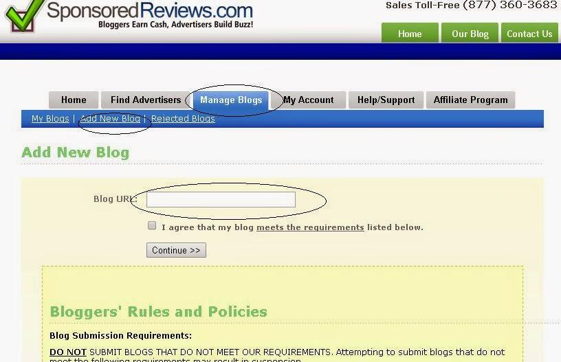 Cara Dapat Uang dari PTR Sponsor Review