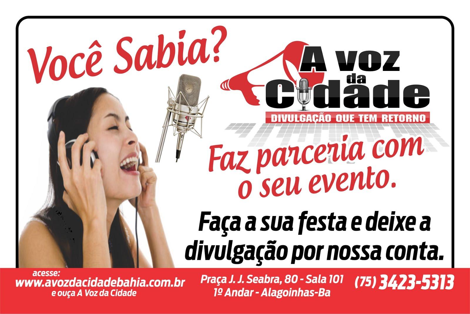 A voz da cidade
