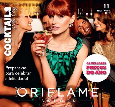 Catálogo 11 de 2012 da Oriflame