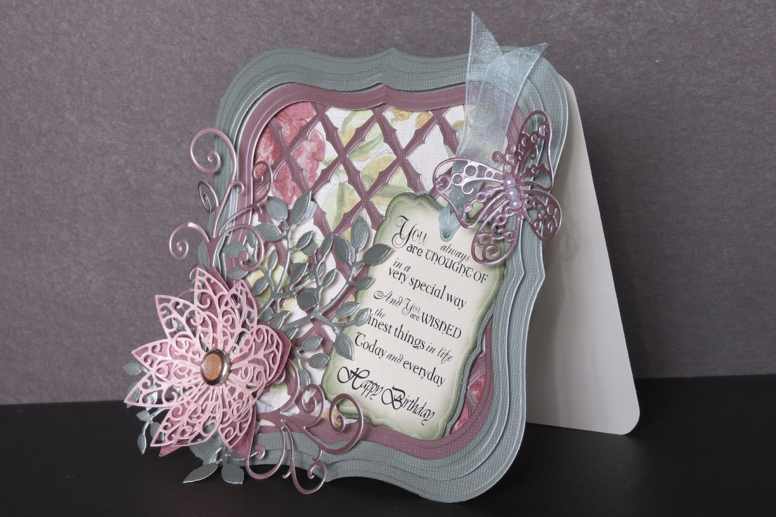 Card Making Ideas Thank You Part - 31: Thank You So Much Again, Pam, For Your Very Helpful Information. Please  Check Out Pamu0027s Blog Linked Here To See Her Beautiful Cards And Get  Inspired With ...