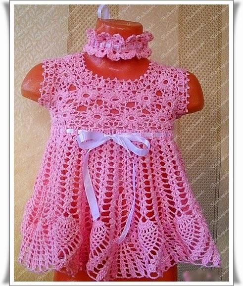 кофта детская крючком схема. Вяжем для девочки платья, сарафаны, туники - Форум по вязанию