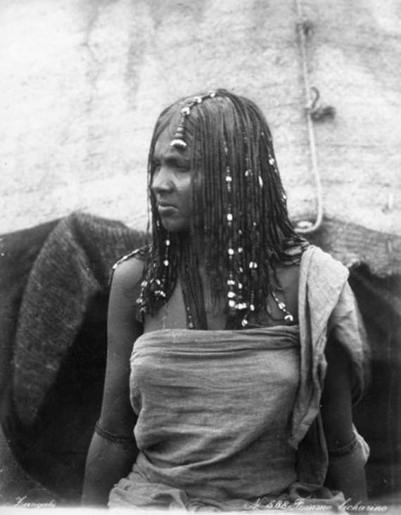 A woman from sudan