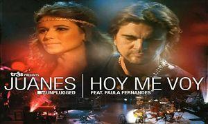 Cantores Juanes e Paula Fernandes