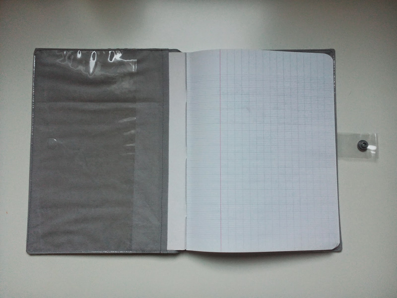 Sydonie p tille prot ge cahier pour cahier de couture - Protege cahier avec rabat ...