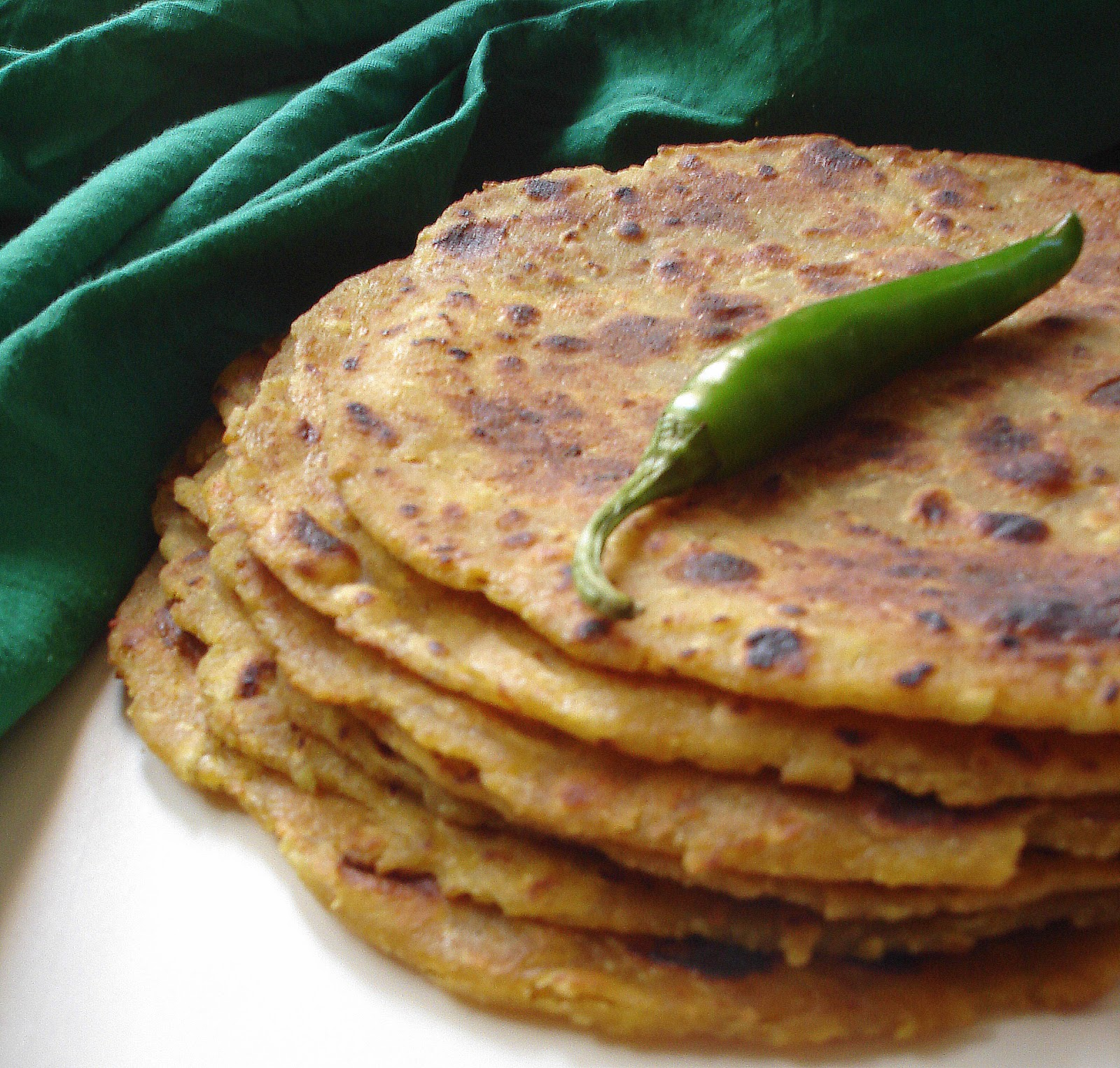 Lauki Thepla | Doodhi na Thepla | Gujarati Thepla | Indian flat bread with bottle gourd