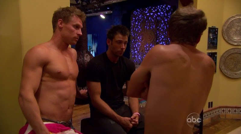 Kirk DeWindt Shirtless in Bachelor Pad s2e03 and s2e04