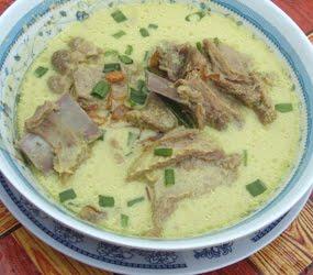 resep masakan Indonesia salah satunya adalah resep gulai kambing