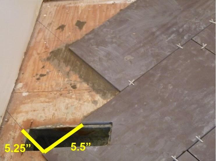 D I Y   D E S I G N: How To Install A Herringbone Tile Floor