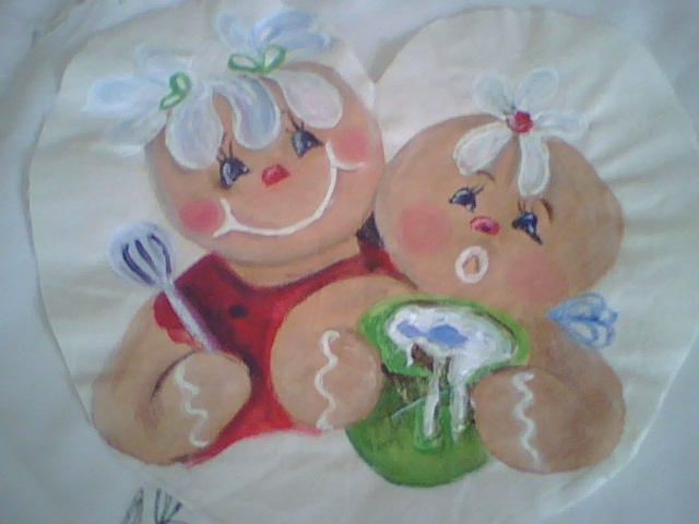 Adornos navide os pintura en tela para adornos navide os - Adornos navidenos tela ...