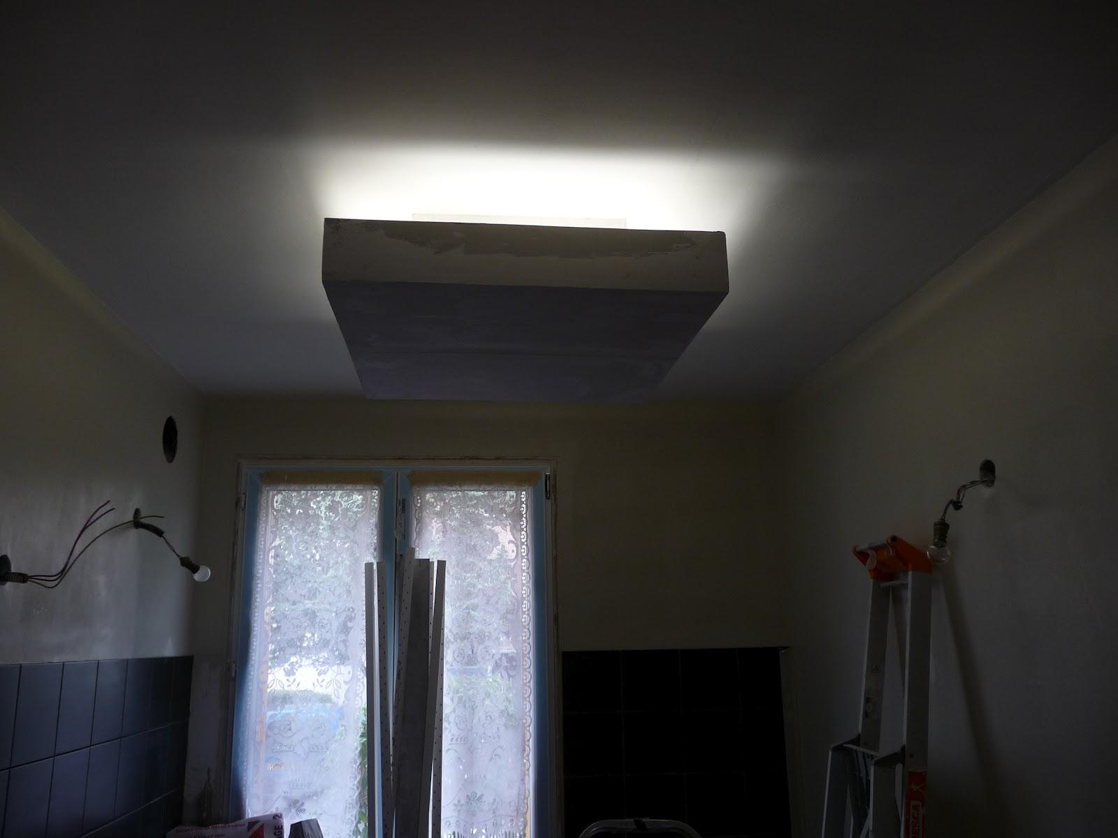 r novation d 39 un appartement plafond clairant en lumi re. Black Bedroom Furniture Sets. Home Design Ideas