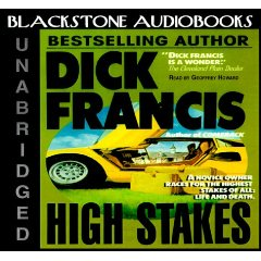 High Stakes (published in 1975) - Written by Dick Francis, a toy designer being cheated by his trainer
