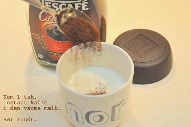 Den perfekte café latte