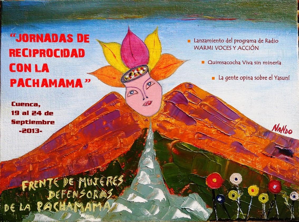 Jornadas de Reciprocidad con la Pachamama