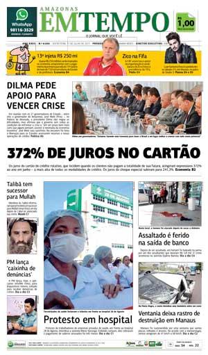 Destaques dos jornais nesta sexta-feira 31 de julho de 2015
