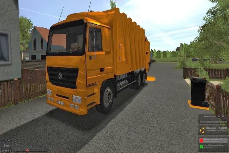 Tanker Truck Simulator 2011 Game
