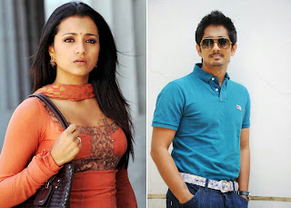 Siddharth Trisha TeamUp Again Tollywod