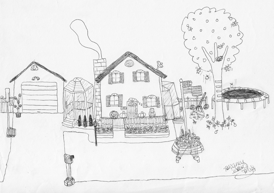 Dream House Drawing Inside my Dream House if You Will