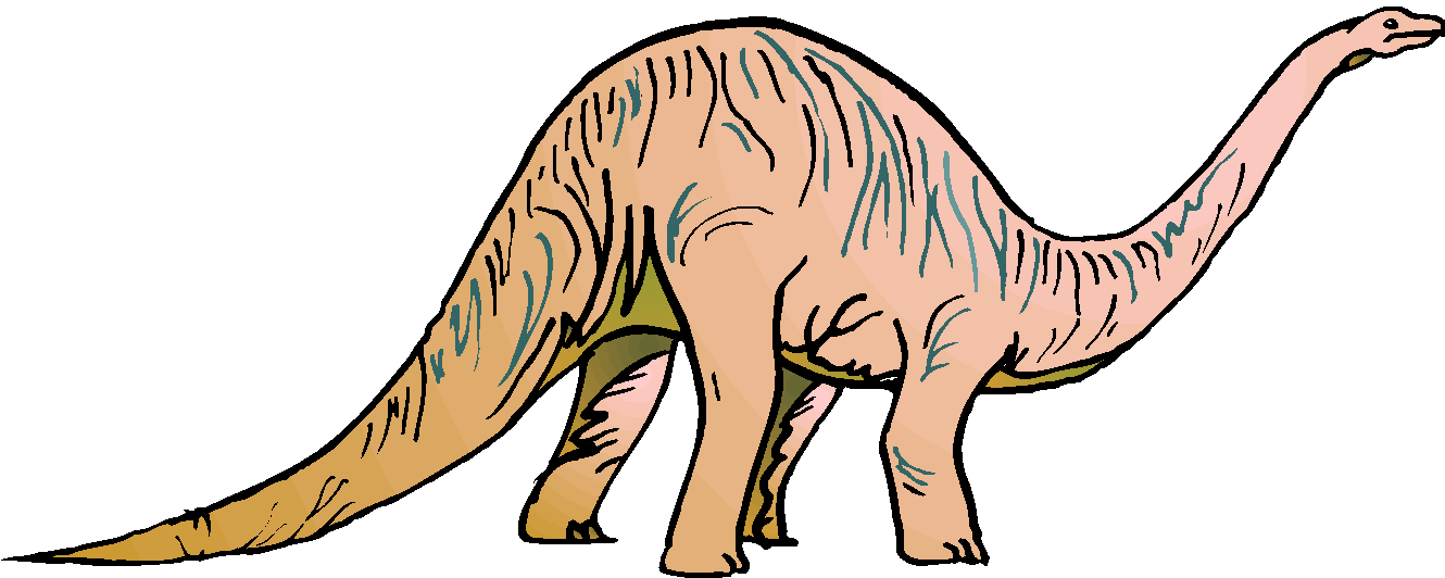 Brontosaurus Free Animal Clipart