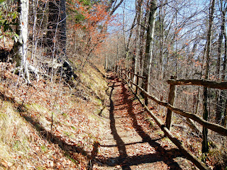 The Appalachian Trail in Smoky Mountain National Park