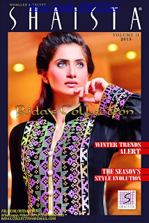 Shaista woolen and velvet collection