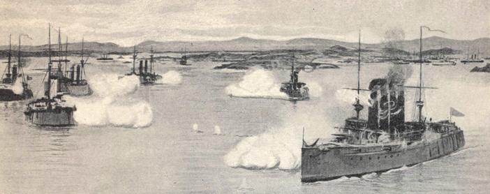 гибель крейсера варяг и канонерской лодки кореец в бухте чемульпо