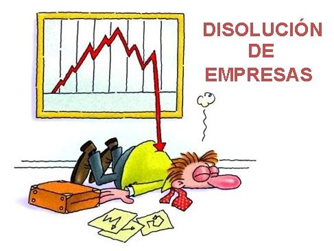 DISOLUCIÓN  DE EMPRESAS
