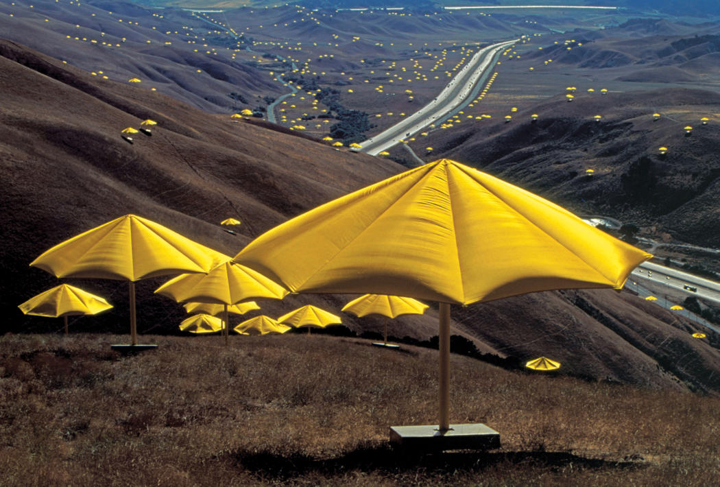 umbrellas by christo and jeanne claudby essay